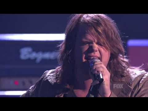 Caleb Johnson  Still of the Night  American Idol XIII 2014