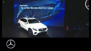 New York International Auto Show: Das neue GLC Coupé