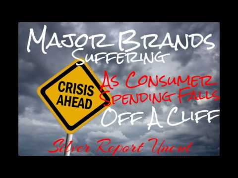 Economic Collapse 2017! Consumer Spending Crisis Largest Brands Suffer Losses in American Market
