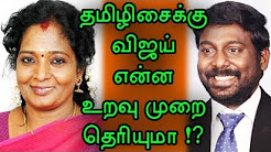 Do you know that Tamilizhai have such a background? vasanth vijay as her brother