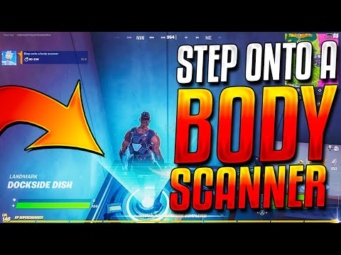 """The """"Step Onto A Body Scanner"""" Challenge Glitched In My FACE! (Week 2 Legendary Quest)"""
