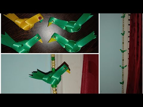 Parrot From Fish Wire |  How To Make Parrot Using Fish Wire | Fish Wire Craft