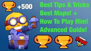 500 Trophies Carl! - Best Tips u0026 Tricks! - How To Play Carl! - Best Maps! - Advanced Guide! - BS