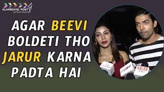Gurmeet Singh &  Debina Bonnerjee Spotted In Tanatan Restaurant   klapboard Bollywood