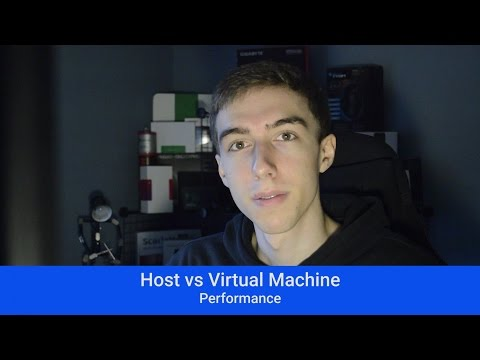 How fast is KVM? Host vs virtual machine performance!