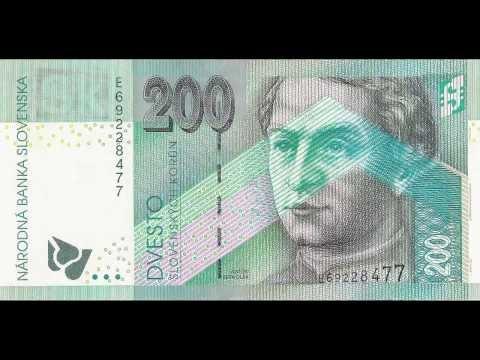 Slovenské bankovky / Slovak banknotes