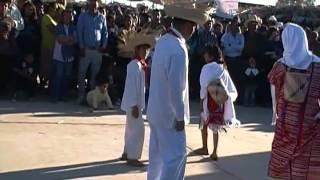 Baile tradicional de San Miguel del Progreso, en Etchojoa, Sonora. 2012