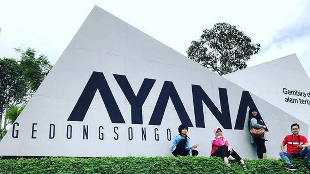 Ayana Gedongsongo Spot Foto Kekinian Di Bandungan Semarang