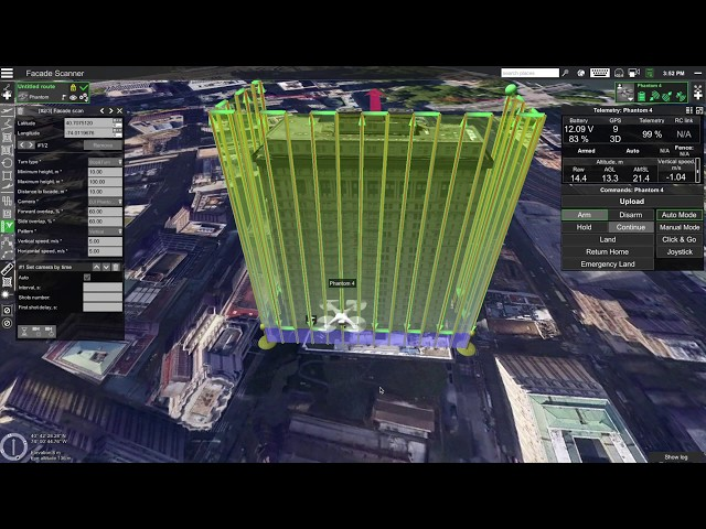 Аutomatic vertical scanning for drones now available - sUAS