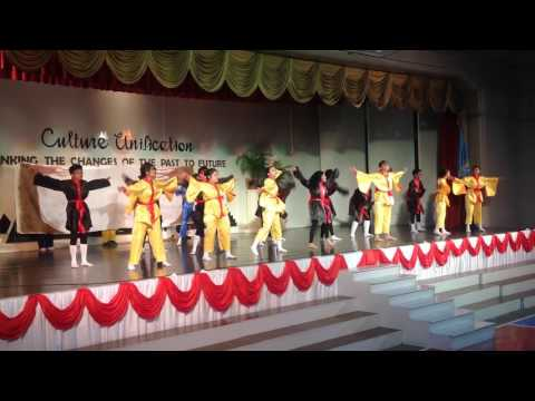 SHS Cultural Contest 2016  AFRO-ASIAN Dance Competition Grade 8 St. Gregory