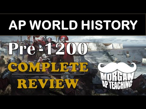 AP World History Modern Review - Unit 0 Review - All Pre-1200 Content - Timestamps Included!