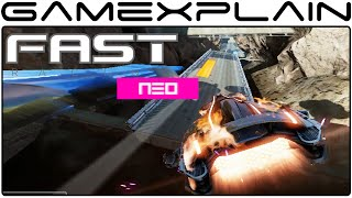 10 Minutes of FAST Racing Neo - Sand Worms, Blizzards, & Giant Whales, OH MY (60fps)