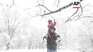 Bulgaria issues weather warning amid heavy snow