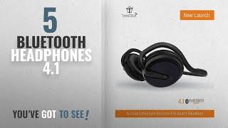 Top 10 Bluetooth Headphones 4 1 2018 Tantra Groove Folding Bluetooth 4 1 on-Ear Wireless