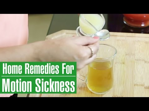 3 Best Home Remedies To PREVENT MOTION SICKNESS
