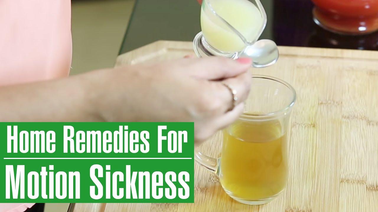 Motion sickness treatments essay