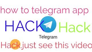 how to telegram app hack.how to hack telegram refferl.