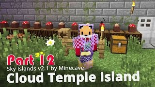 Minecraft Adventure Map - Sky Islands v2.1 - Cloud Temple Island {12}