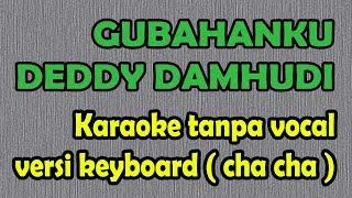 Gubahanku Karaoke - Deddy Damhudi versi cha cha keyboard