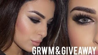 GRWM & Giveaway Details | Helen Mourad