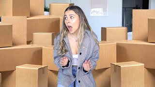 I left for ONE DAY and came back to this (HUGE UNBOXING)