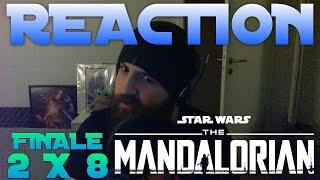 The Mandalorian Season 2 FINALE REACTION!! 2x8 Chapter 16 'The Rescue'