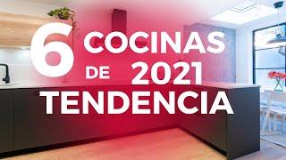 6 DISEÑOS de COCINA que te ENCANTARÁN 2021