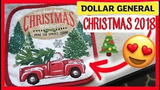 🎄DOLLAR GENERAL CHRISTMAS | SHOP WITH ME AND HAUL NEW 2018