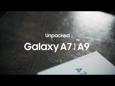 Unpacked Galaxy A7 | A9