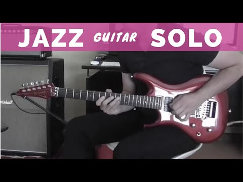 IN THE STYLE OF - Smooth Jazz Lead Guitar - Ibanez JS 1200