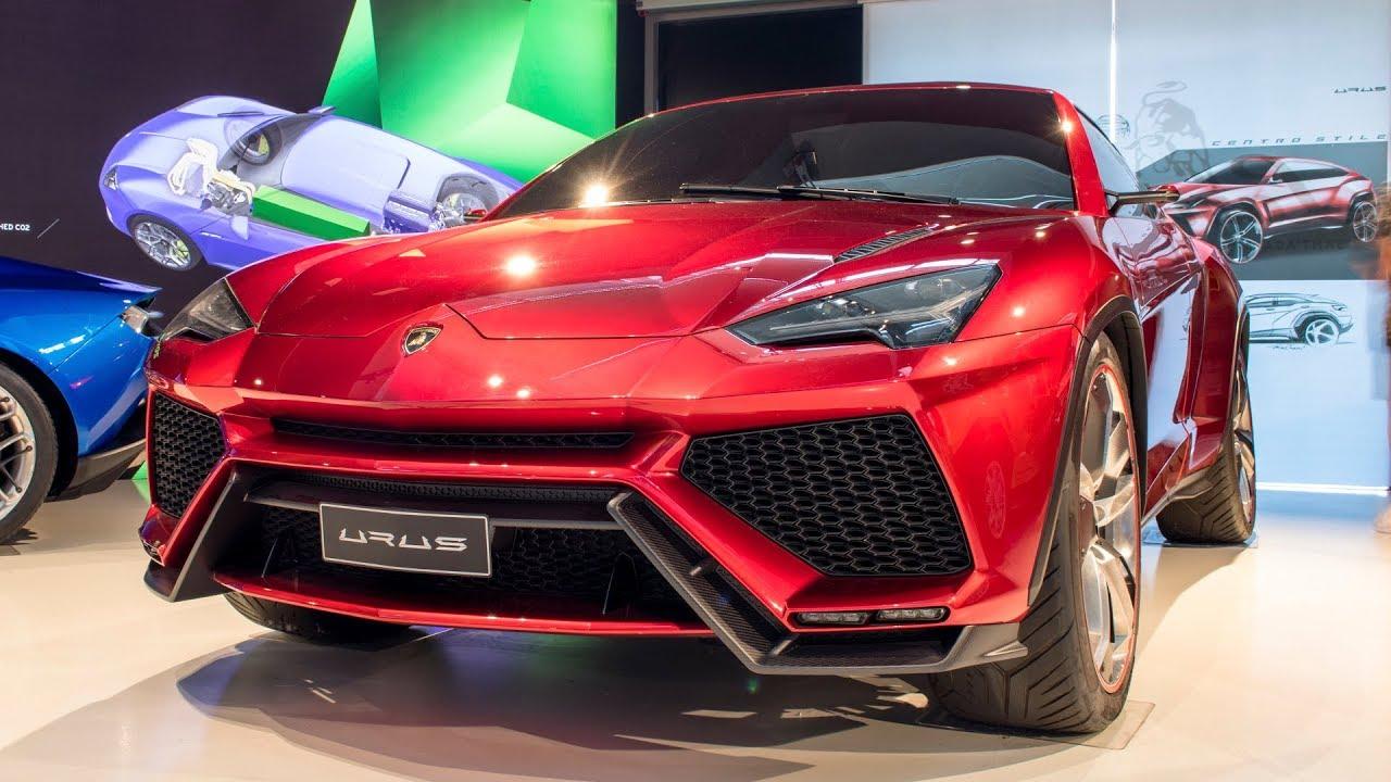 Lamborghini Urus Lamborghini Museum 2017 4k Youtube