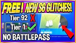 🌟 SEASON 6 *FREE* BATTLE PASS ITEM GLITCH! NEW XP GOD MODE, Under Map! (Fortnite S6 Top Glitches)
