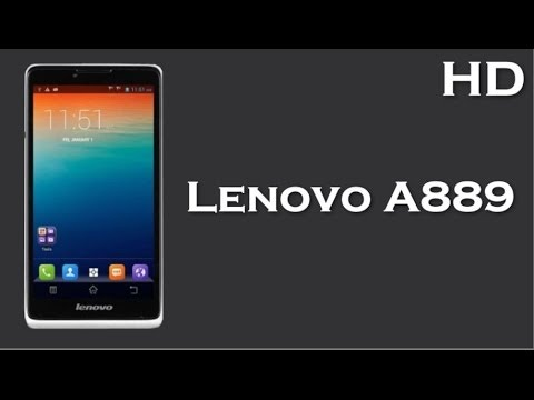 Lenovo A889 Price Specification Review With 1 3 Ghz Quad Core