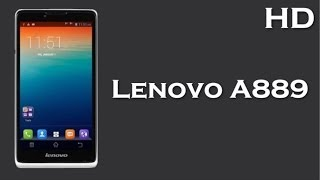 lenovo a889 price specification review with 1 3 ghz quad core processor 1 gb ram 2500 mah battery