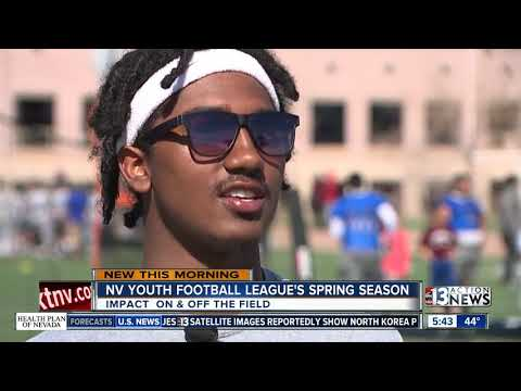 Nevada Youth Football League Kicks Off Spring Season
