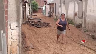 Secretário Ítalo Diógenes inicia construção de calçamento nas travessas da ruas de Dona Maria Pezinh