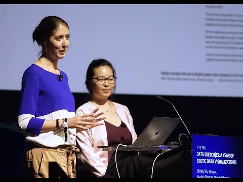 Shirley Wu & Nadieh Bremer: Datasketch es - A Year Of Exotic Data Visualizations - JSConf.Asia 2018