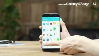 Cómo sacar partido de la pantalla Edge en Galaxy S7edge
