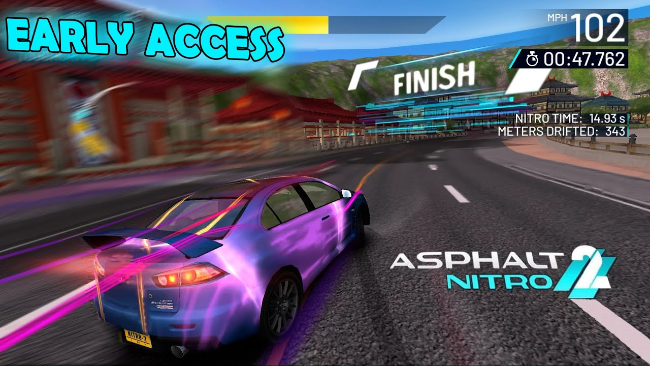 Asphalt Nitro 2 Gameplay - Android (EARLY ACCESS)