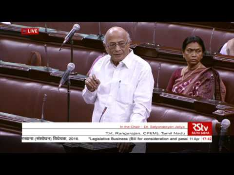 Sh. TK Rangarajan's Speech | The Factories (Amendment) Bill, 2016