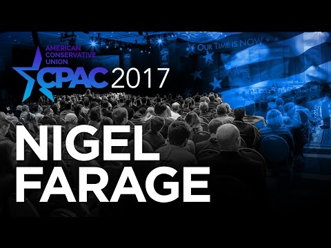 CPAC 2017 - Nigel Farage