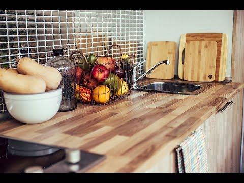 Instalar encimera de cocina de madera - Programa completo - Bricomanía