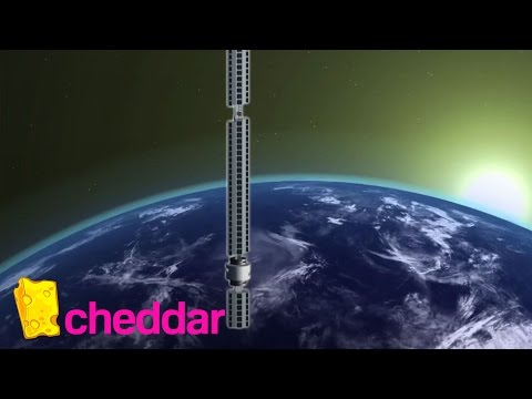Is That a Skyscraper Hanging from an Asteroid? Yes It Is. | Cheddar