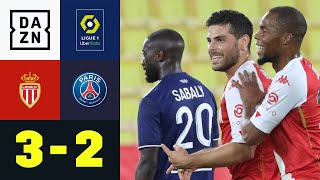 Kevin Volland Show sticht Mbappes Doppelpack: Monaco - PSG 3:2 | Ligue 1 | DAZN Highlights