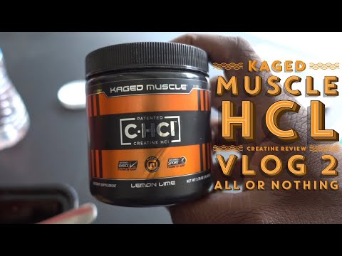 Kaged Muscle HCL review/ All Or Nothing Vlog 2