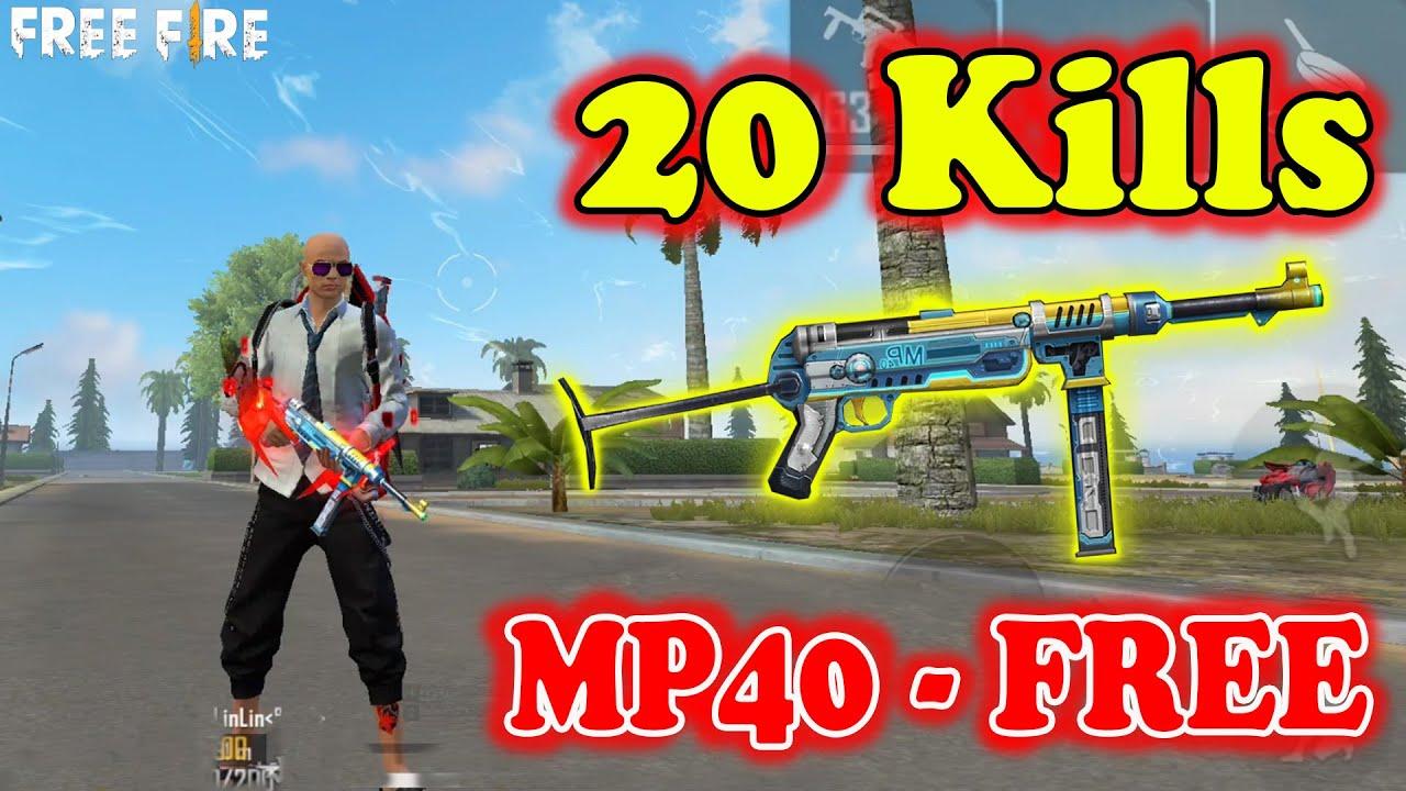 Cách Nhận Skin M40 Công Nghệ FREE 100%, Vác MP40 Solo Rank Squad Hốt 20 Kill | Free Fire