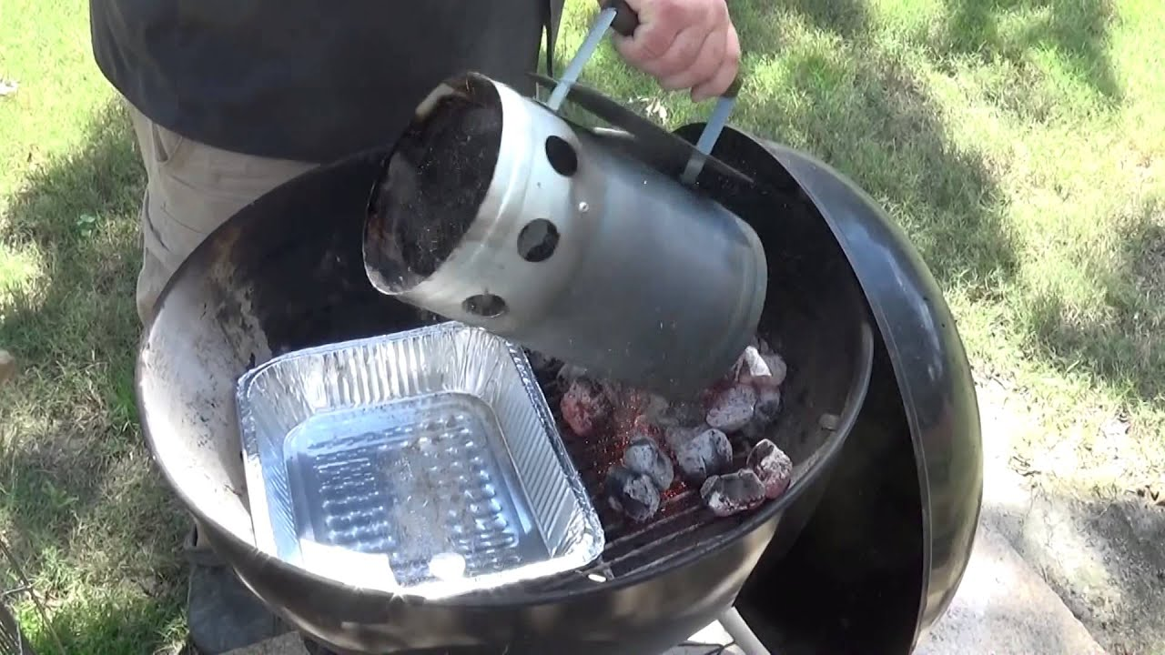 How To Set Up A Charcoal Grill For Smoking Smoke Meat