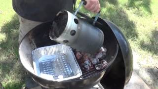 How To Set Up A Charcoal Grill For Smoking | Smoke Meat with your Weber Kettle