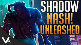 SFV - Shadow Nash! We Marvel Now!? The Darkness Revenger In Street Fighter 5 Arcade Edition