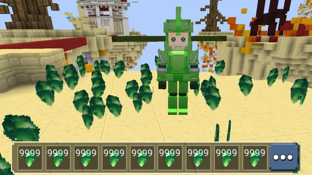 Download New Unlimited Emerald Glitch with Fake Noob *Puppet*! BedWars Blockman Go